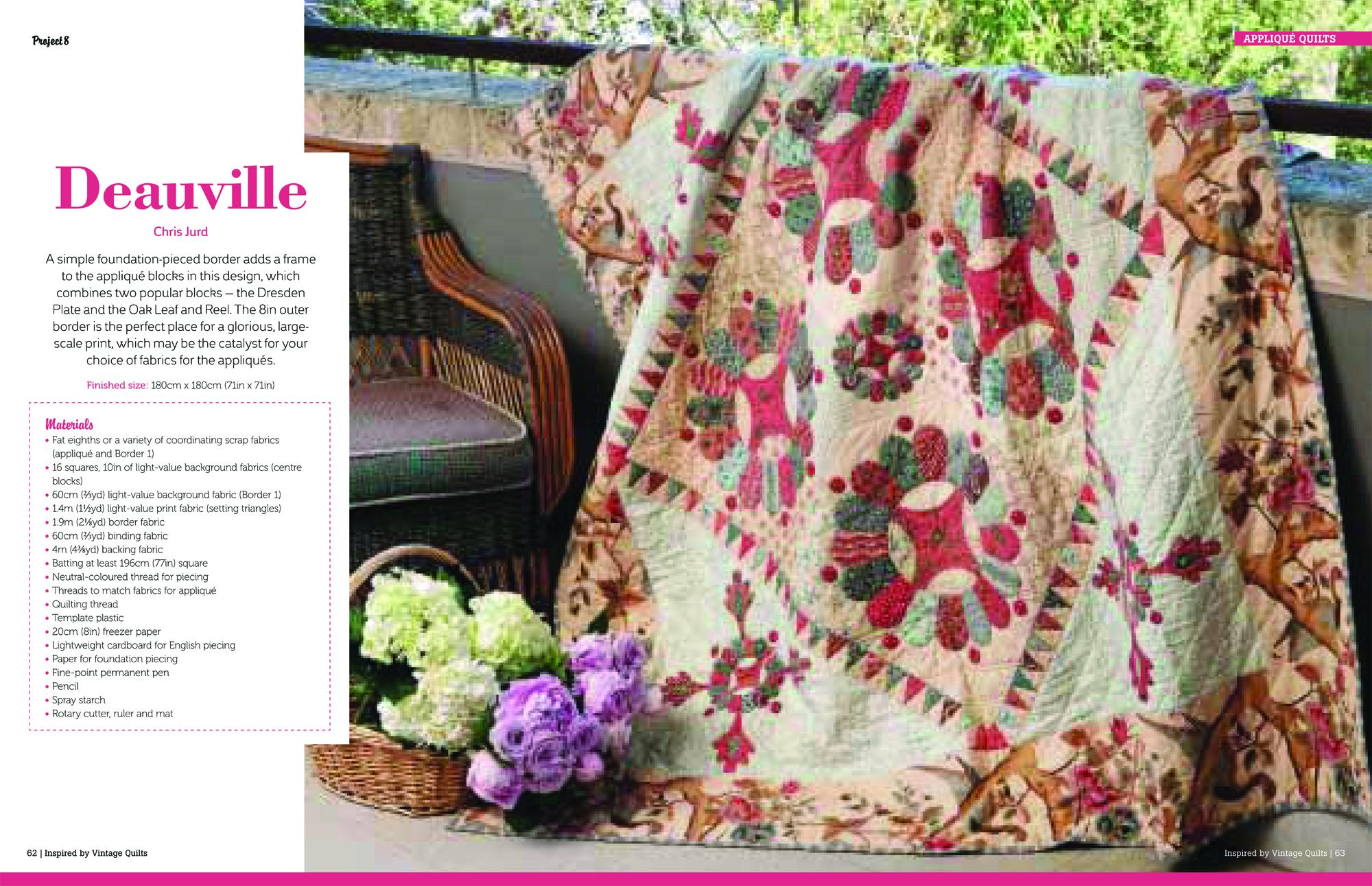 Vintage Quilts_DEAUVILLE